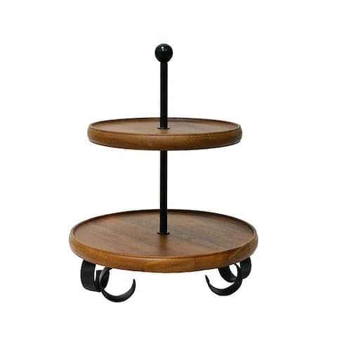 222 Fifth Henley 2-Tier Server Stand