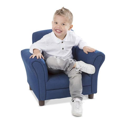 Child's Armchair - Denim