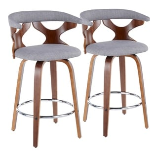 Link to Carson Carrington Viby Mid-century Modern Counter Stools (Set of 2) - N/A Similar Items in Dining Room & Bar Furniture
