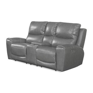 Copper Grove Fyti Power Reclining Loveseat with Storage Console