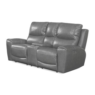 Liberty Power Reclining Love Seat with Storage Console by Greyson Living