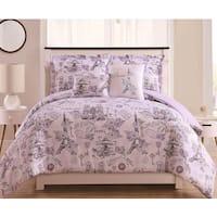 Paris Symphonique Fashion 4/5pc Oversized Comforter Set