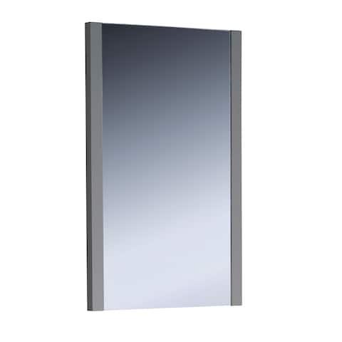 """Fresca Torino 21"""" Gray Mirror - Grey"""