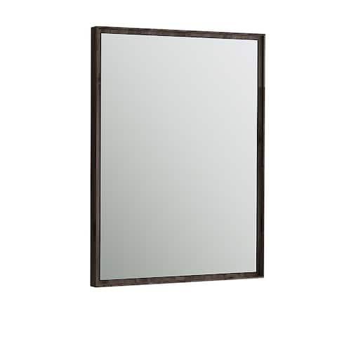 """Fresca Formosa 26"""" Bathroom Mirror - Brown - A/N"""