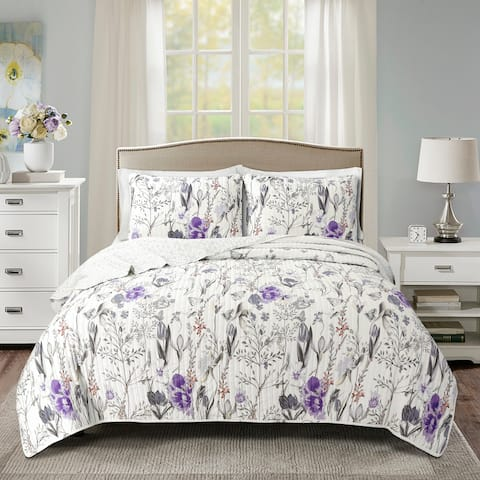 Lush Decor Adalia 3 Piece Quilt Set
