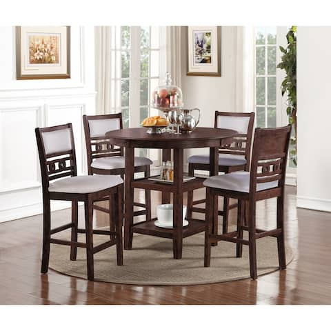 Copper Grove Creteil 5-piece Counter-height Dining Table Set