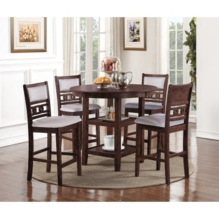 Link to Copper Grove Creteil 5-piece Counter-height Dining Table Set Similar Items in Dining Room & Bar Furniture