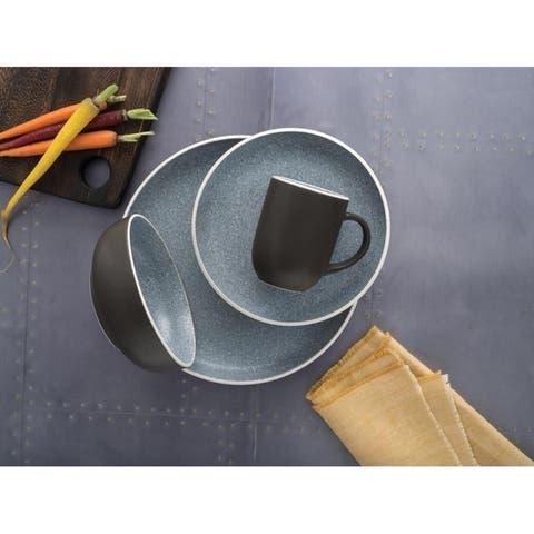 Sango Tailor Granite 16 Piece Dinnerware Set, Service for 4