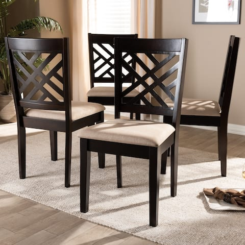 Modern and Contemporary Dining Chair 4-Piece Set