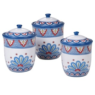 Certified International Tangier Canisters, Set of 3