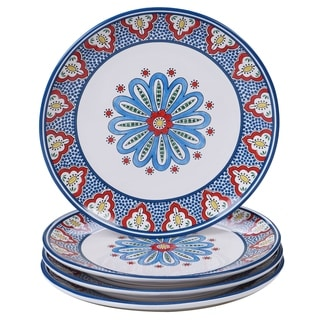 Certified International Tangier Dinner Plates, Set of 4