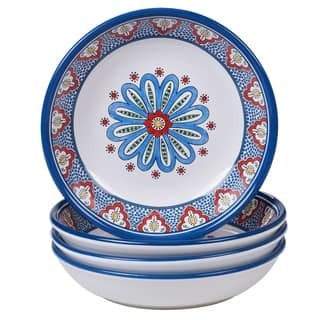Certified International Tangier Soup/Pasta Bowls, Set of 4