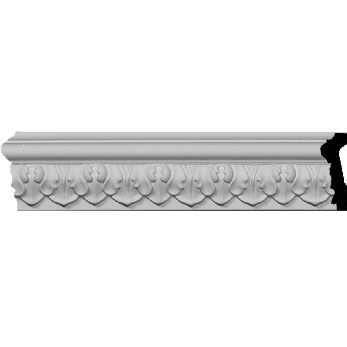Picture of: Shop 1 7 8 H X 3 4 P X 94 1 2 L Blackthorne Acanthus Leaf Chair Rail Moulding Overstock 27129116