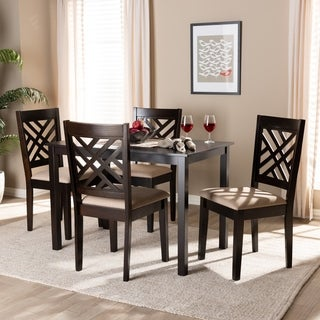 Modern and Contemporary 5-Piece Dining Set