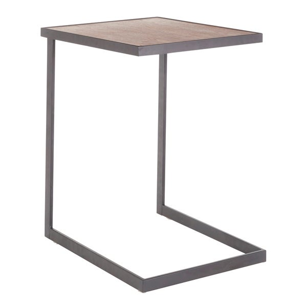 Copper Grove Tutrakan Industrial End Table