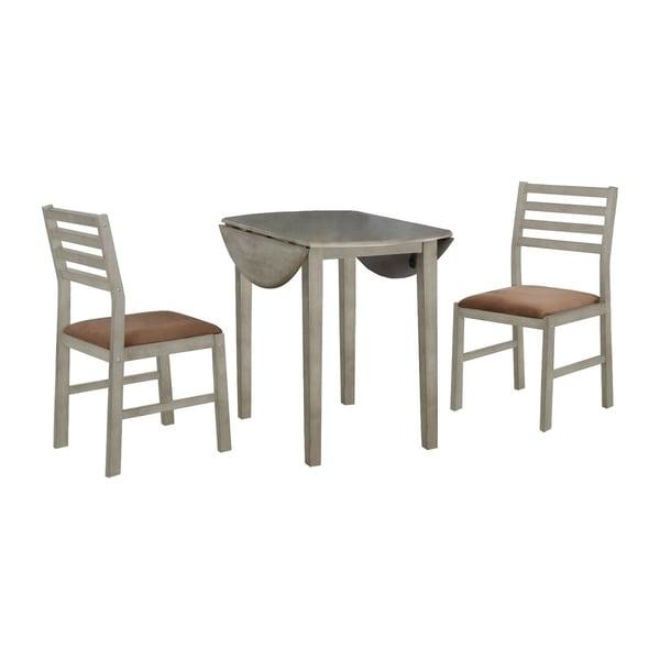 The Gray Barn Costa Plenta 3-piece Small Round Dining Set