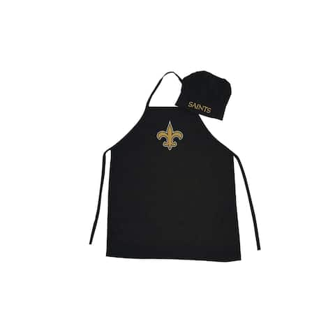 NFL Apron & Chef Hat - New Orleans Saints