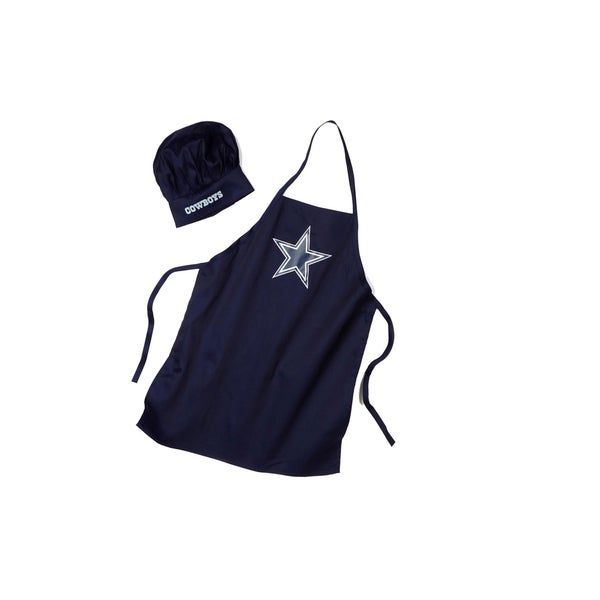 1dc505f41 Shop NFL Apron   Chef Hat - Dallas Cowboys - Free Shipping On Orders Over   45 - Overstock - 27129899