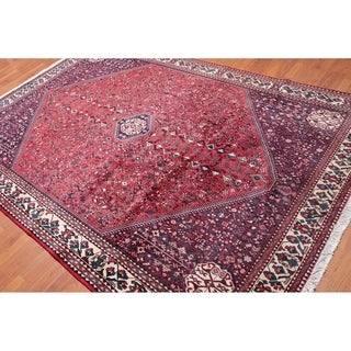 """Traditional  Pictorial Hand Knotted Wool Indo Persian Area Rug (6'5""""x9'7"""") - 6'5"""" x 9'7"""""""
