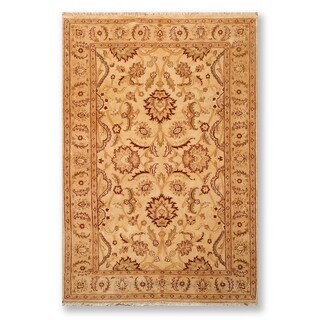 """Oushak Hand Knotted Wool Persian Oriental Area Rug (6'1""""x9'5"""") - 6'1"""" x 9'5"""""""