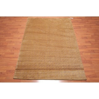 "Hand Knotted Wool Tibetan Area Rug Modern (6'x8'10"") - 6' x 8'10"""