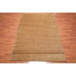 "Hand Knotted Wool Tibetan Area Rug Modern (6'x8'10"") - 6' x 8'10"""