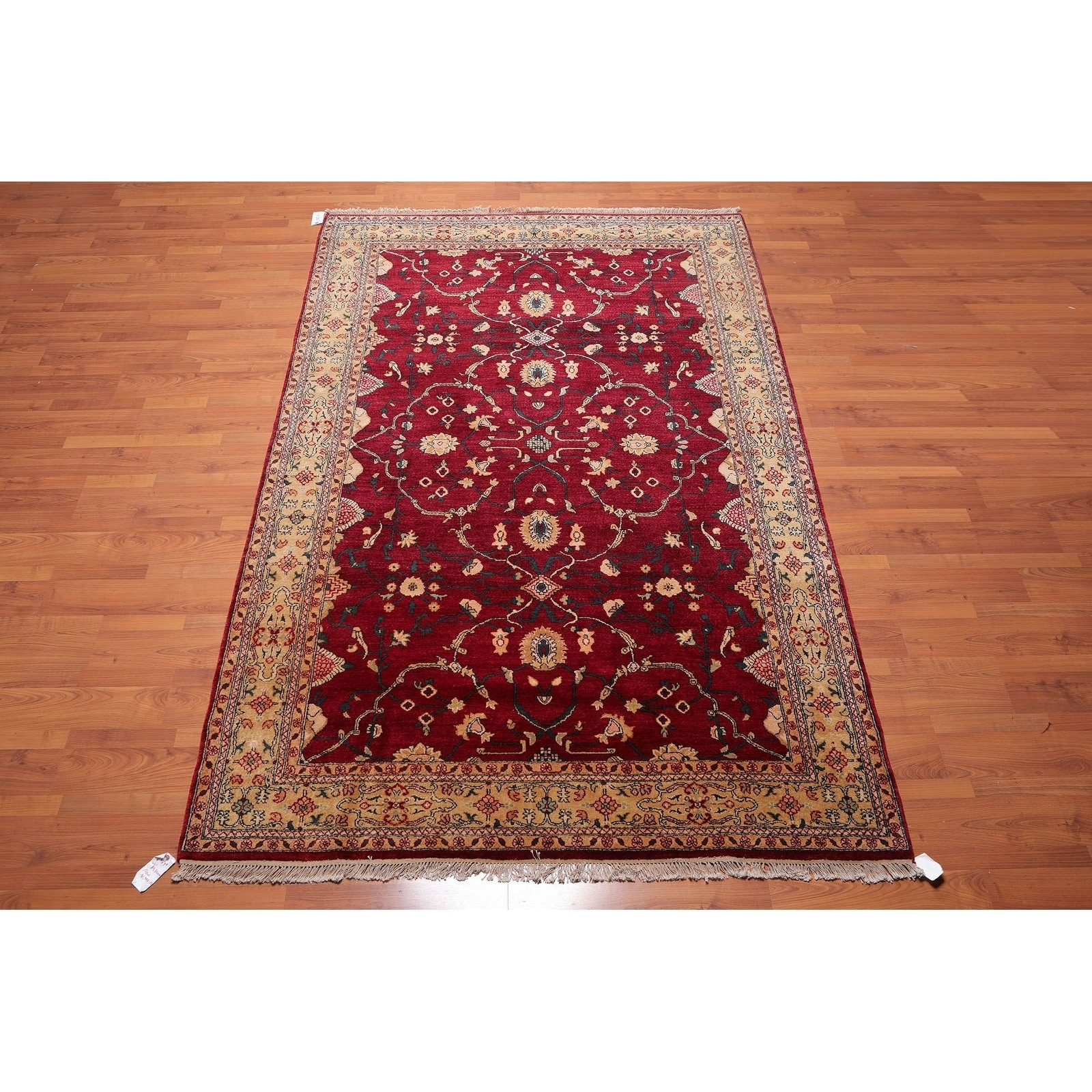 Hand Knotted Anoush Wool Persian Oriental Area Rug 6 2 X9 8 6 2 X 9 8 On Sale Overstock 27145339