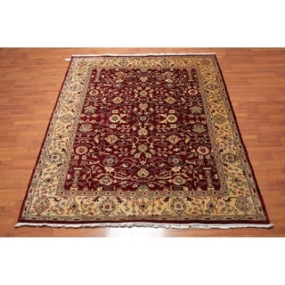 """Hand Knotted Wool Persian Oriental Area Rug (8'x9'7"""") - 8' x 9'7"""""""