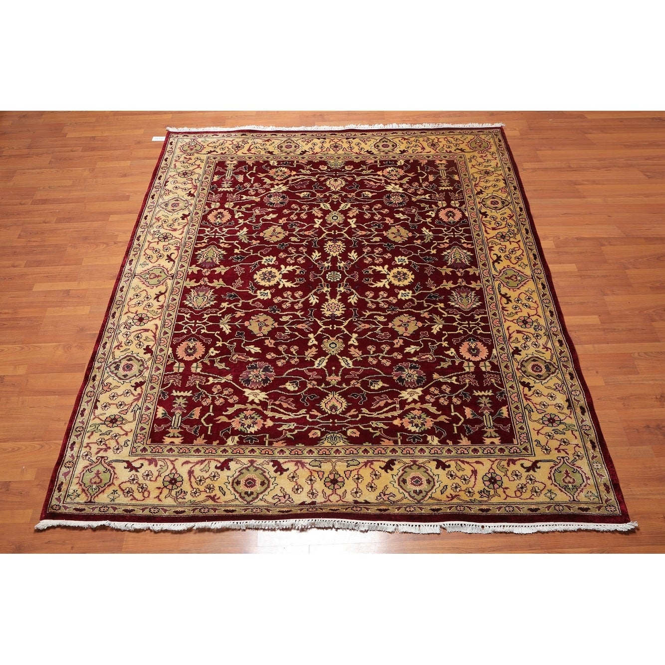Hand Knotted Wool Persian Oriental Area Rug 8 X9 7 8 X 9 7 On Sale Overstock 27145340