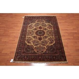 "Hand Knotted 200 KPSI Tea Wash Wool Persian Oriental Area Rug (6'6""x9'7"") - 6'6"" x 9'7"""