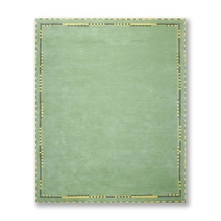 """Traditional Hand Knotted Wool Tibetan Area Rug (8'3""""x9'6"""") - 8'3"""" x 9'6"""""""
