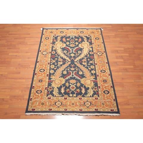 "Nourison Nourmak Reversible Soumak Hand Knotted Wool Persian Oriental Area Rug (5'6""x8'6"") - 5'6"" x 8'6"""