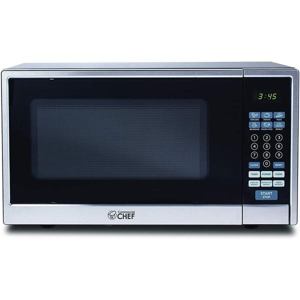 Shop Commercial Chef Chcm11100ssb Microwave Oven Black