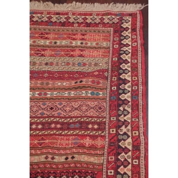 Hand Woven Wool Persian Area Rug