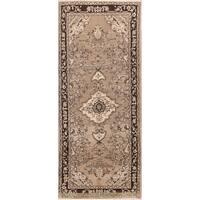 Copper Grove Hvalso Floral Handmade Wool Persian Heirloom Item Area Rug - 8'4 x 3'5 Runner