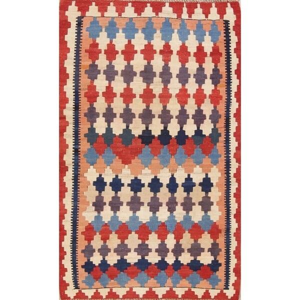 "Copper Grove Bellinge Geometric Hand Woven Wool Persian Area Rug - 5'0"" x 3'1"""