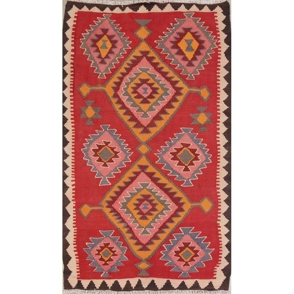 "Copper Grove Mariehamn Geometric Hand-woven Wool Heirloom Item Area Rug - 6'9"" x 4'1"""
