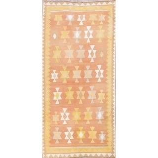 "Gracewood Hollow Moraes Geometric Hand-woven Wool Persian Rug - 8'9"" x 3'11"" Runner"