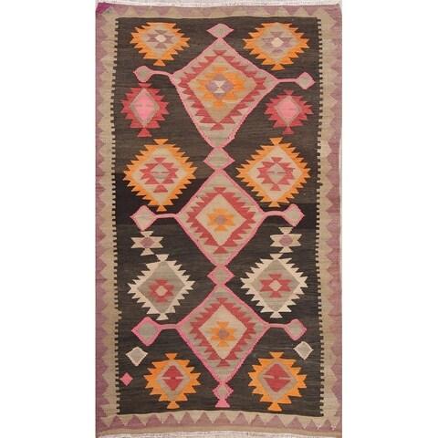 "Copper Grove Give Geometric Hand Woven Wool Persian Area Rug - 6'10"" x 3'10"""