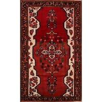 Copper Grove Logstor Floral Handmade Wool Persian Heirloom Item Area Rug - 7'3 x 4'3