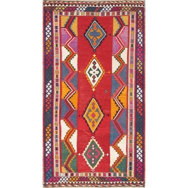 "Copper Grove Padborg Geometric Hand Woven Wool Persian Area Rug - 9'5"" x 6'5"""
