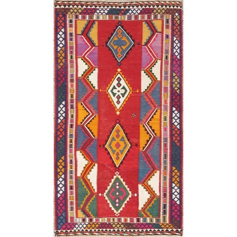 "Copper Grove Padborg Geometric Hand Woven Wool Persian Area Rug - 9'5"" x 6'5"""