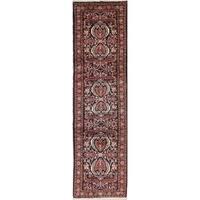 Copper Grove Sunds Floral & Botanical Handmade Wool Persian Area Rug - 10'1 x 2'9 Runner