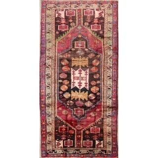 "Gracewood Hollow Bissoon Handmade Geometric Wool Persian Area Rug - 9'10"" x 4'11"""