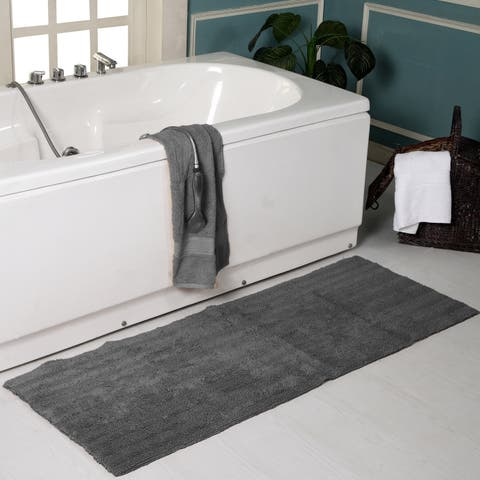 "Super Soft Reversible Textured Oversized 22"" x 60""Bath Rug - 22 x 60"