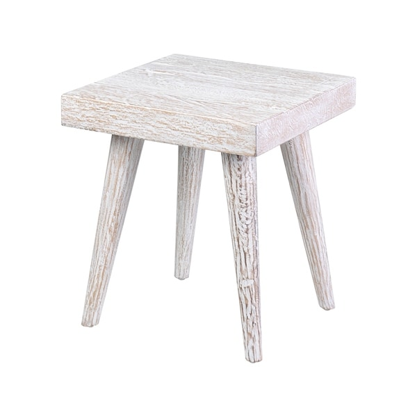 East at Main's Serenity Teak End Table