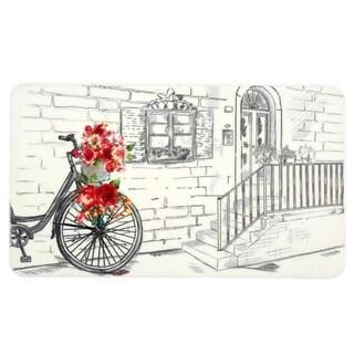 Evolur Home Rose Basket, Nursery Rug  55'x31.5'