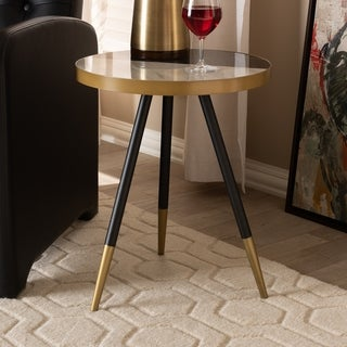 Modern and Contemporary Round End Table