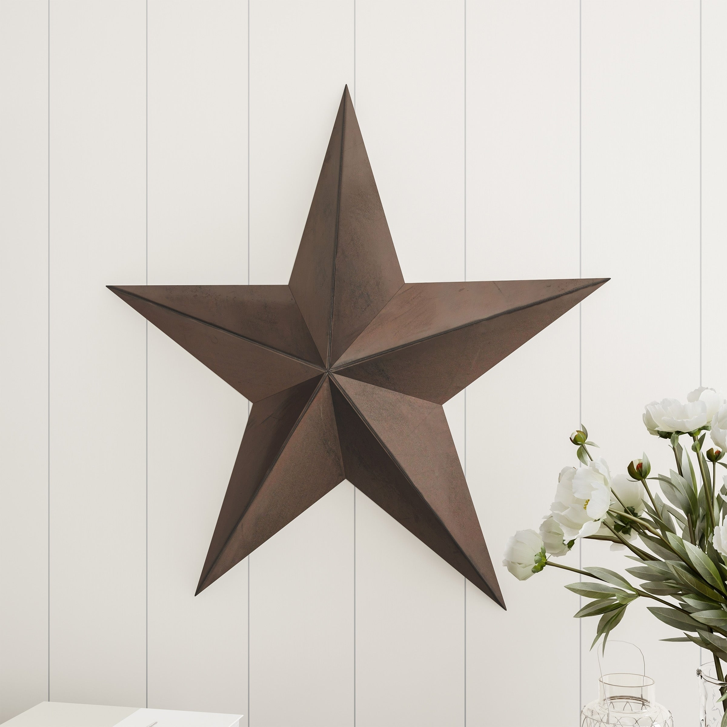 "Farmhouse Black 18/"" Barn Star"