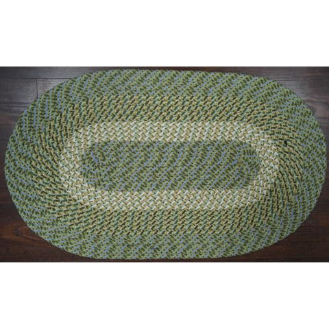 Better Trends Country Braid Collection is Durable and Stain Resistant Reversible Indoor Area Utility Rug
